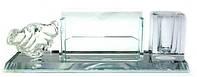Підставка для ручок і візиток кришталь (22х7х6,5 см)