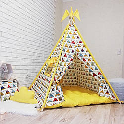 """Вигвам, детская палатка KatyPuf """"Вигвамчики"""""""