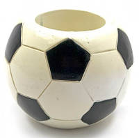 """Підставка для ручок """"Футбольний м'яч"""" (d-8 см)"""