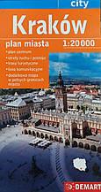 KRAKOW / КРАКОВ   План города  1: 20 000
