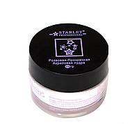 Акриловая пудра Starlet Professional прозрачно-розовая ,15 г