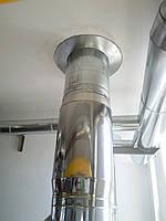 Дымоход Ø140 нержавейка/нержавейка 1мм AISI430, фото 1