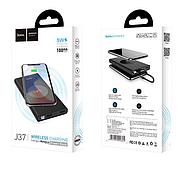 Портативная Батарея Hoco J37 Wisdom wireless charging mobile power bank(10000mAh) Black, фото 2