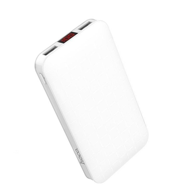 Портативная Батарея Hoco J29A Cool square mobile power bank(10000mAh) White