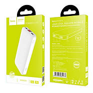 Портативная Батарея Hoco J29A Cool square mobile power bank(10000mAh) White, фото 2