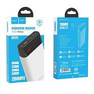 Портативная Батарея Hoco J28A Shock power mobile power bank(20000mAh) White, фото 2
