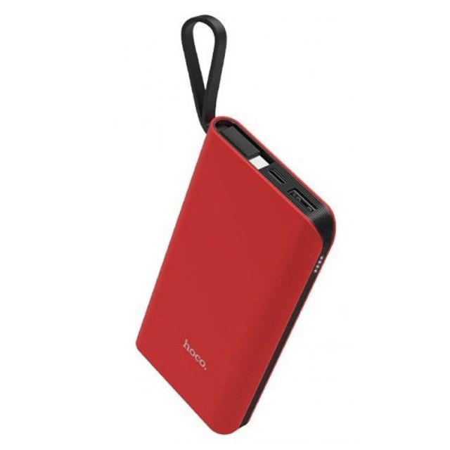 Портативная Батарея Hoco J25A New power Micro mobile power bank(10000mAh) Red