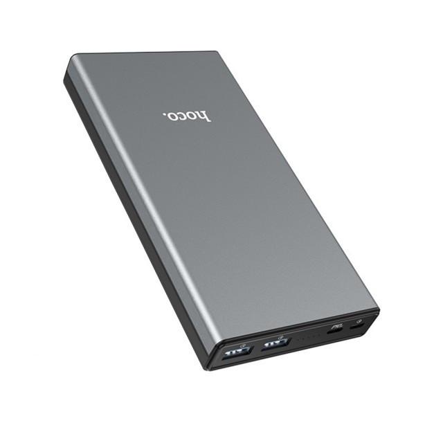 Портативная Батарея Hoco B39 Magic Stone PD QC 3.0 power bank(30000mAh) Metal Grey