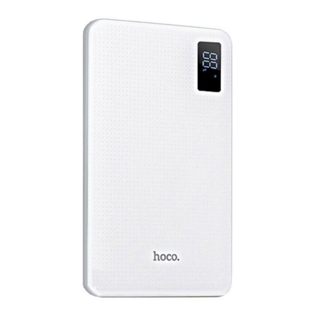 Портативная Батарея Hoco B24 Pawker power bank(30000mAh) White
