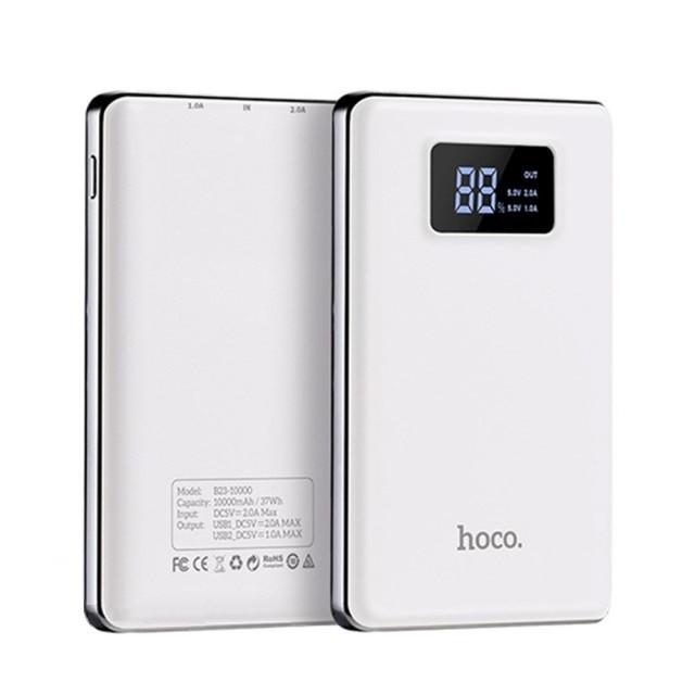 Портативная Батарея Hoco B23 Flowed power bank(10000mAh) White