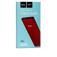 Портативная Батарея Hoco B16 Metal surface Power bank(10000mAh) Red, фото 2