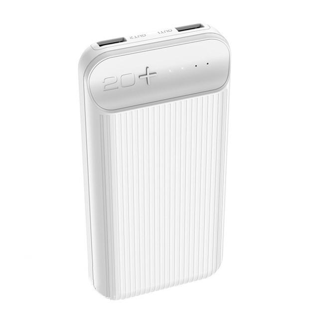 Портативная Батарея Hoco J52A New joy mobile power bank (20000mAh) White