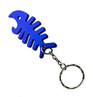 Брелок-открывашка Fish Skeleton Blue
