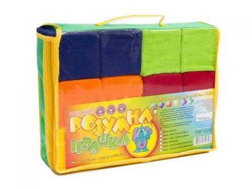 Кубики мягкие, 7 х 7 см (12 штук)  sco