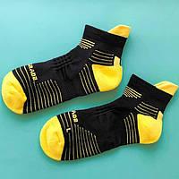 Носки спортивные Up Grade UG 40-45 Черный с желтым