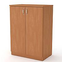 Шкаф книжный КШ-17 ольха  (61х37х84 см)
