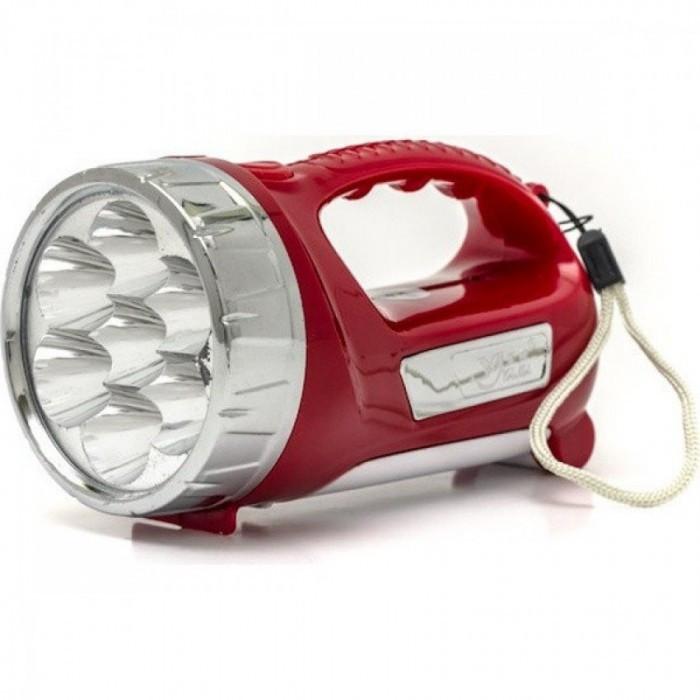 Ручной аккумуляторный фонарь YJ-2804 Красный