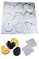 Силіконова форма для Пасхального печива і пряників на 9 осередків
