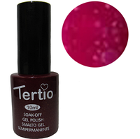 TERTIO гель - лак № 167(сиреневый с крупными сине-красными блестками)10 мл