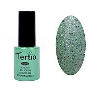 TERTIO гель - лак № 173(салатовый с блестками)10 мл