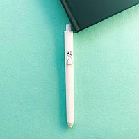 Ручка Cute Сat Кот с синяком PHANTACI Черные чернила 0,5 мм Белый с принтом
