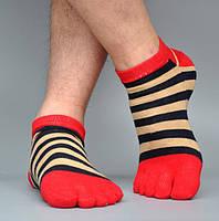 Носки с пальцами ROPALIA 39-44 Красный