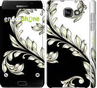 """Чехол на Samsung Galaxy A7 (2016) A710F White and black 1 """"2805c-121-7673"""""""