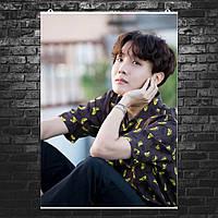 "Постер ""J-Hope, Джей-Хоуп, Чон Хо Сок"", вариант №1. Размер 60x43см (A2). Глянцевая бумага"