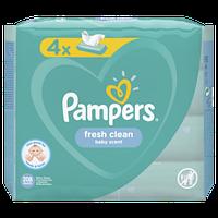 Детские влажные салфетки Pampers Baby Fresh Clean, 4x52 шт.