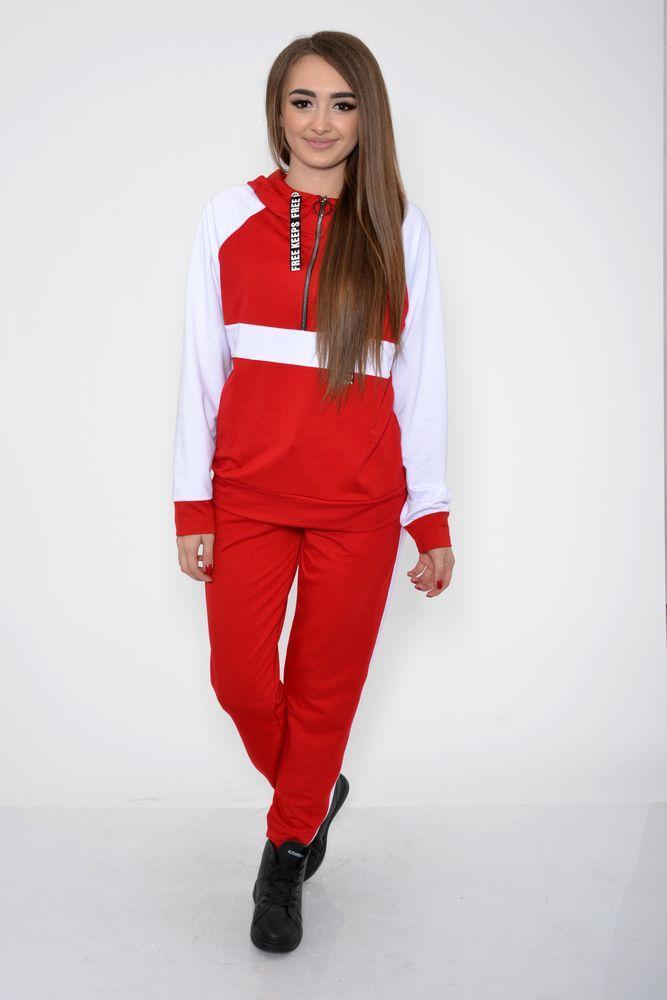 Спорт костюм женский цвет Красный размер L