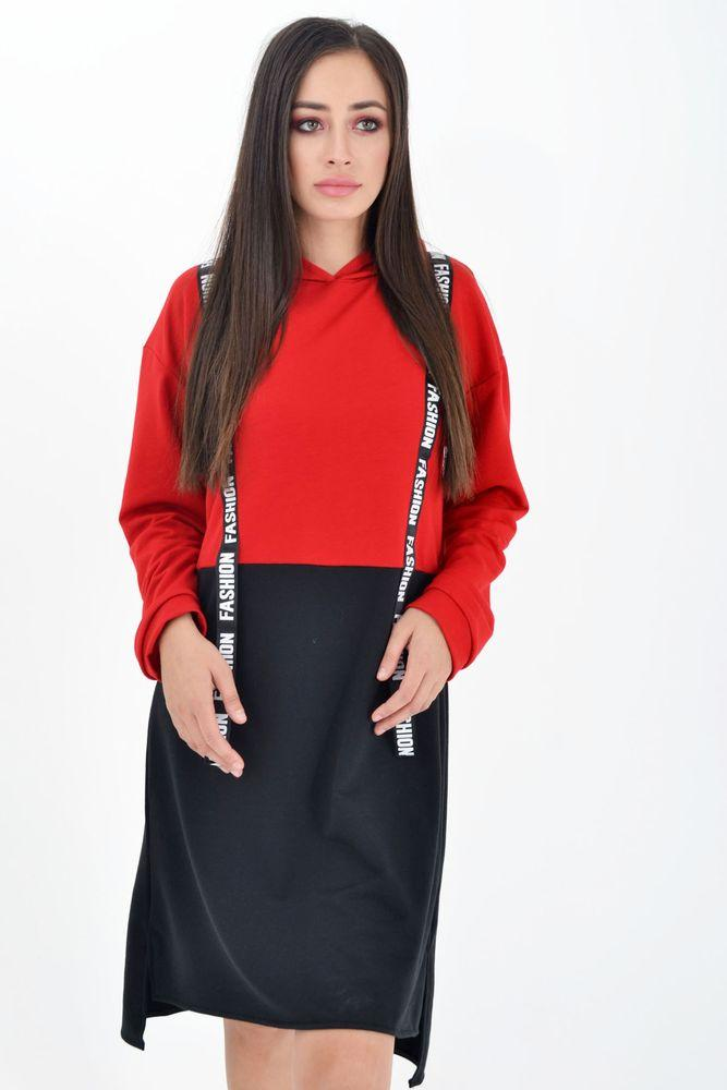 Туника женская цвет Красный