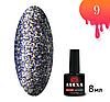 Гель-лак для ногтей ALEXA диамантовый 8мл №9