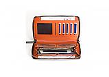 Портмоне Baellerry Leather Model 2 мужской кошелек для дешег, карточек, телефона, фото 2