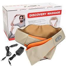 Електричний роликовий масажер для спини та шиї Massager of Neck Kneading
