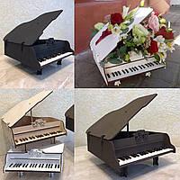 Ящик для цветов и декора - Рояль кракелюр