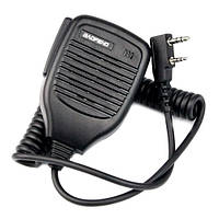 Тангента, микрофон, манипулятор для рации BAOFENG KENWOOD HYT WOUXUN TG-02