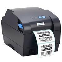 Термопринтер этикеток, наклеек, штрих-кода Xprinter XP-365B 80мм, фото 1