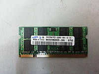 Оперативная память б/у Samsung SODIMM DDR2-667 1GB PC2-5300 (M470T2953EZ3-CE6)