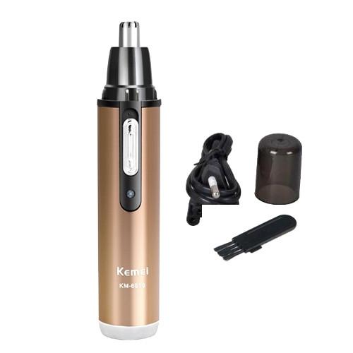 Триммер гигиенический для носа и ушей AOKE AK-6619 с аккумулятором