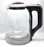 Стеклянный электрический чайник Redmond RMC-993, фото 3