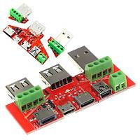 Универсальная плата переходник тестирования кабелей для USB тестера
