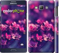 """Чехол на Samsung Galaxy A7 A700H Пурпурные цветы """"2719c-117-7673"""""""