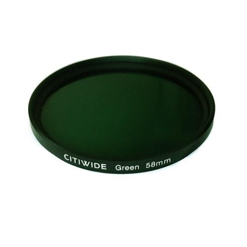Цветной фильтр 58мм зеленый, CITIWIDE
