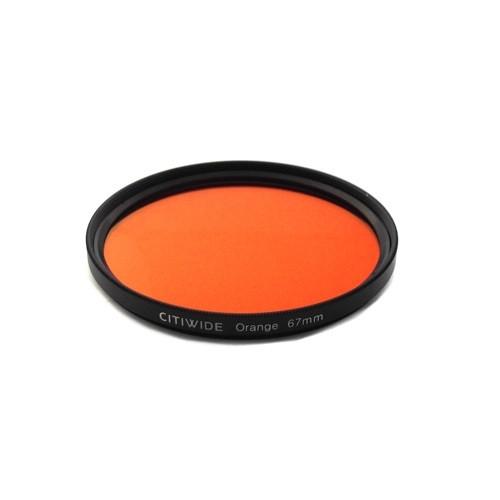 Цветной фильтр 67мм оранжевый, CITIWIDE