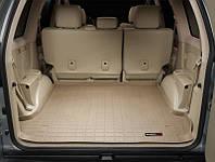 Коврик в багажник Toyota Land Cruiser Prado 120, GX 470 2003-2008 бежевый | Автоковрик WeatherTech 41240