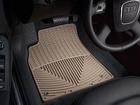 Коврики Audi A4 B8, A5 2007- бежевые передние   Автоковрики WeatherTech W111TN