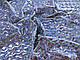 Трикотаж масло голограмма кубическая, серебро, фото 2