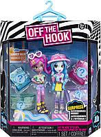 Набор сюрприз  куколки с одеждой. Вивиан и Мила. Off the Hook Style,Vivian & Milа, Spin Master из США