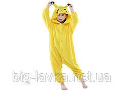 Нейлоновая пижама для ребенка Пикачу S