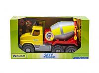 """Грузовик """"City Truck"""" бетономешалка в коробке  scs"""